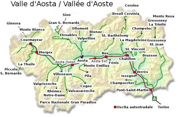 Cartina Della Valle D Aosta Politica.Evaluation Of Socio Economic Impact Of Regional Policies On Valle D Aosta S Growth In 1963 2002 Econlivlab