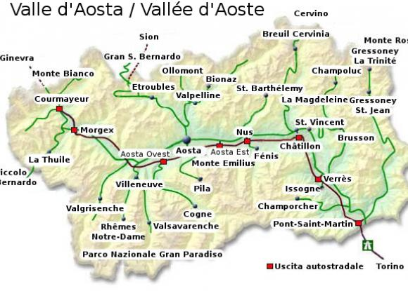 Cartina Fisica Della Valle D Aosta Da Stampare.Evaluation Of Socio Economic Impact Of Regional Policies On Valle D Aosta S Growth In 1963 2002 Econlivlab